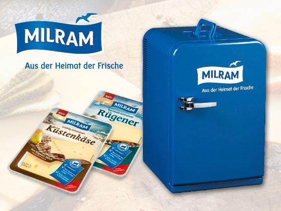 MILRAM verlost Mini-Kühlschränke  Gewinnspiel