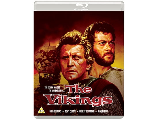 Win a copy of THE VIKINGS starring Kirk Douglas & Tony Curtis sweepstakes