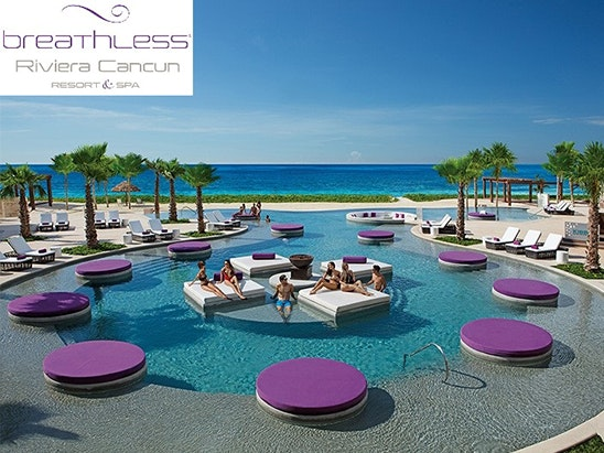 Luxury stay for 2 at Breathless Riviera Cancun Resort & Spa sweepstakes