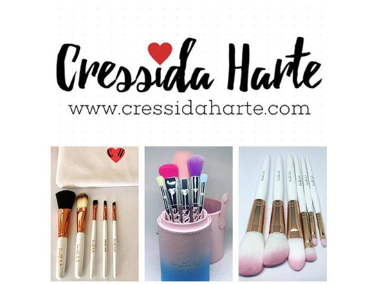 Cressida Harte Unicorn brush set sweepstakes