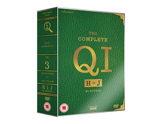 The Complete QI Volumes 3 & 4 on DVD sweepstakes