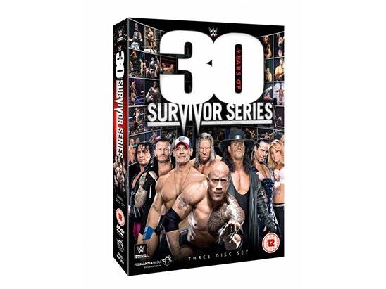 WWE - 30 Years of Survivor Series  sweepstakes