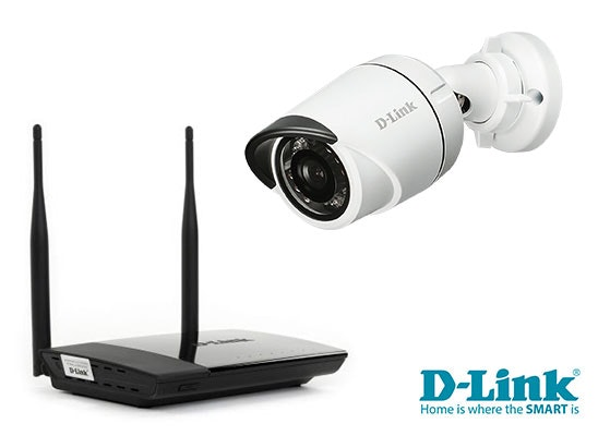 Wireless Router and an HD Outdoor Mini Bullet Camera sweepstakes