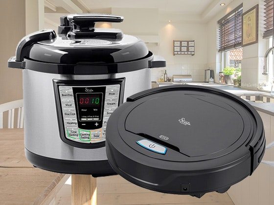 Strata Home Pressure Cooker & Robotic Vacuum sweepstakes