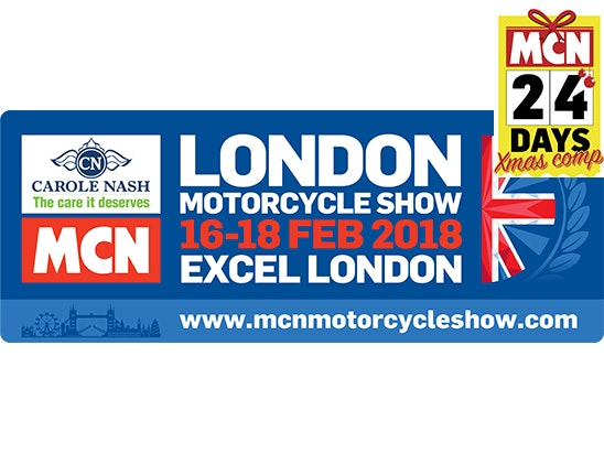 Carole Nash MCN London Motorcycle Show sweepstakes