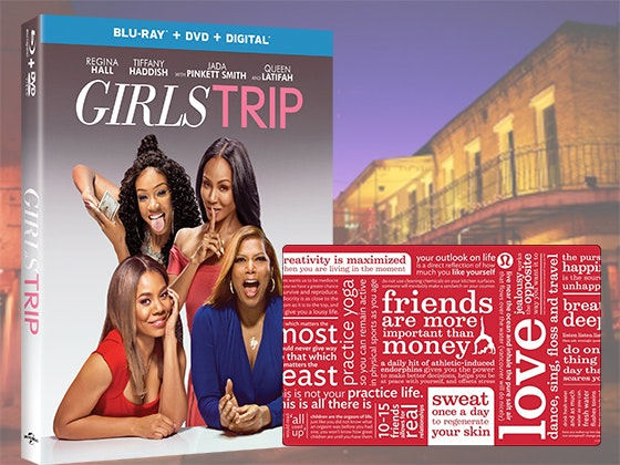 GIRLS TRIP on Blu-ray Combo Pack & $250 Lululemon Gift Card sweepstakes