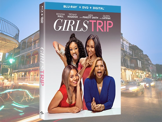 """GIRLS TRIP"" on Blu-ray Combo Pack & a $250 Visa Gift Card sweepstakes"