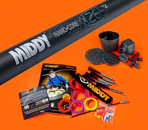 Middy Nano-Core XZ65-2 World Elite 16.6m pole sweepstakes