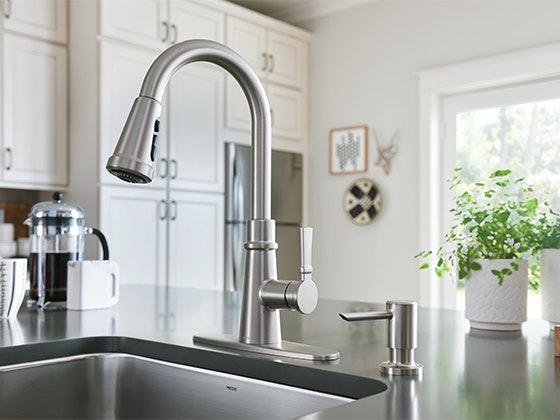 Moen tullis pulldown faucet giveaway 1