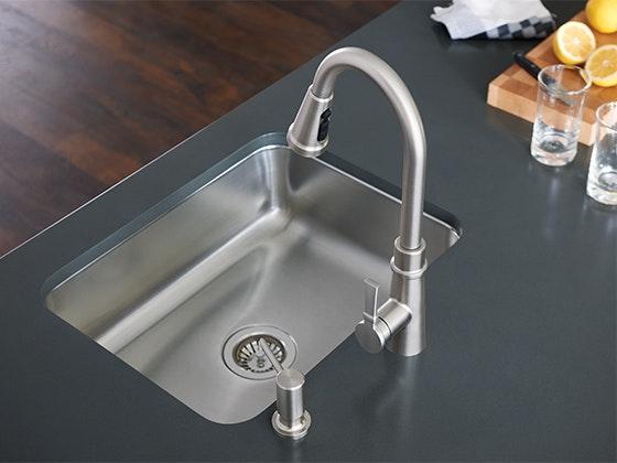 Moen Tullis Pulldown Kitchen Faucet sweepstakes