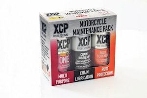 Motorcycle maintenance pack