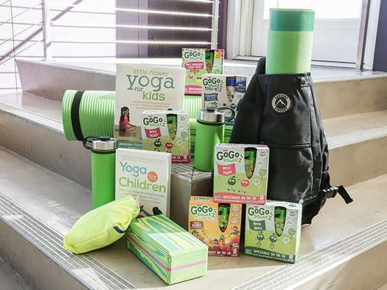 GoGoSqueez & Yoga Bundle sweepstakes