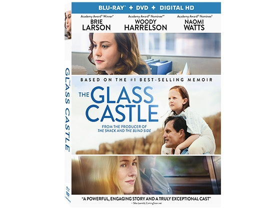 THE GLASS CASTLE on Blu-ray sweepstakes