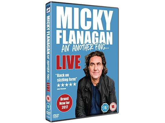 Micky Flanagan 'An' Another Fing', sweepstakes
