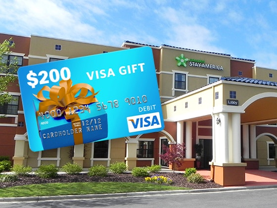 Extended Stay America Hotel and a $200 VISA Gift Card - In Touch sweepstakes