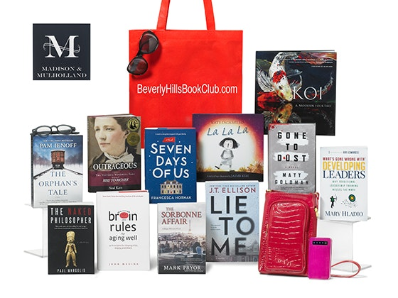 Beverlyhillsbookclub oct swag bag giveaway