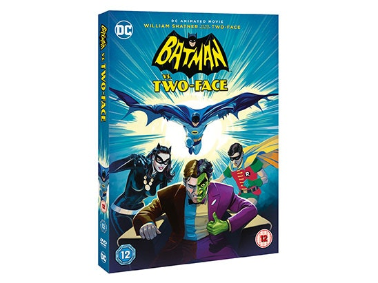 BATMAN VS TWO-FACE ON DVD  sweepstakes