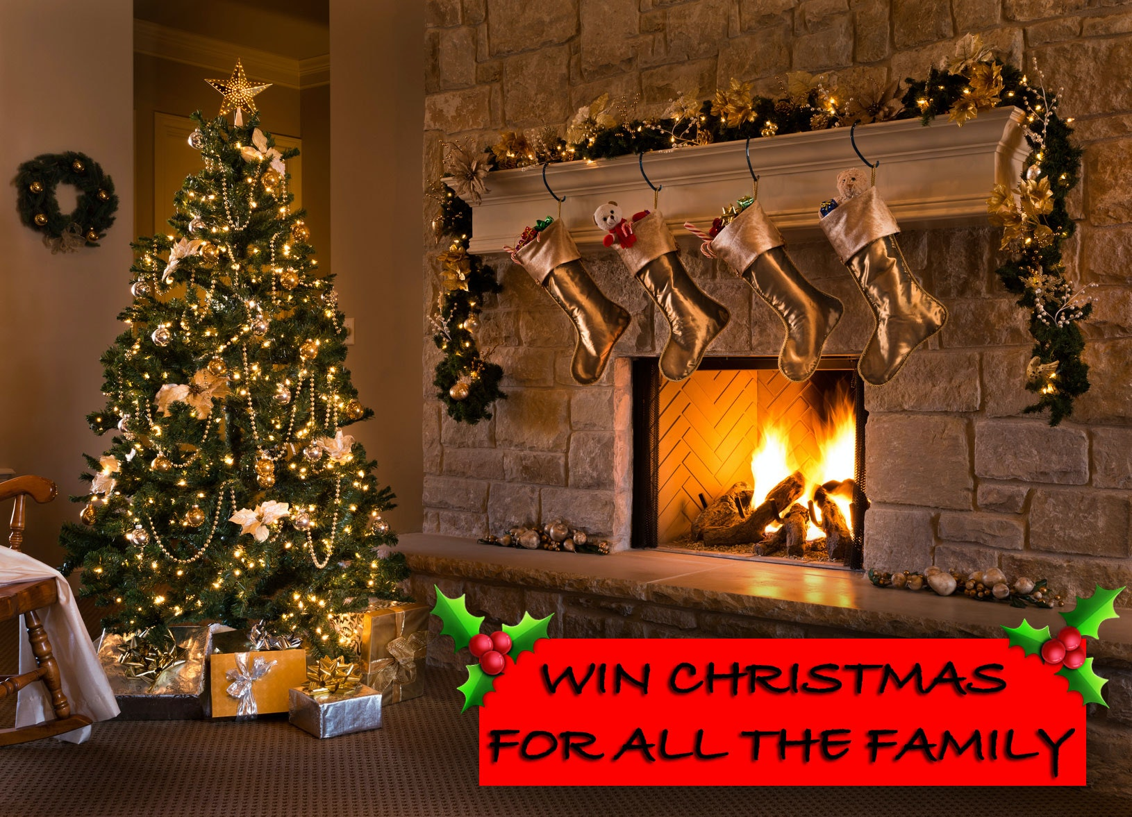 Christmas for the family!  sweepstakes