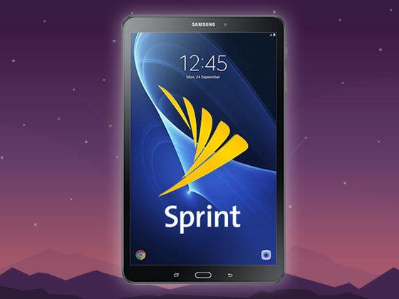 Samsung Galaxy Tab A Tablet from Sprint sweepstakes