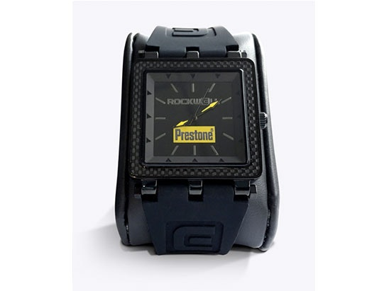 a limited edition designer watch and a year's supply of Prestone screen wash sweepstakes
