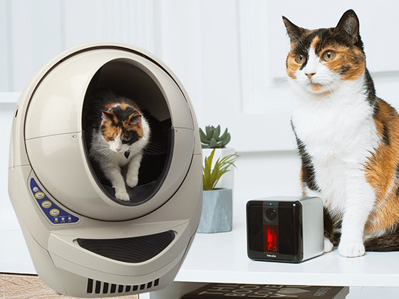 Self-Cleaning Litter Robot and a PetCube Play Camera sweepstakes