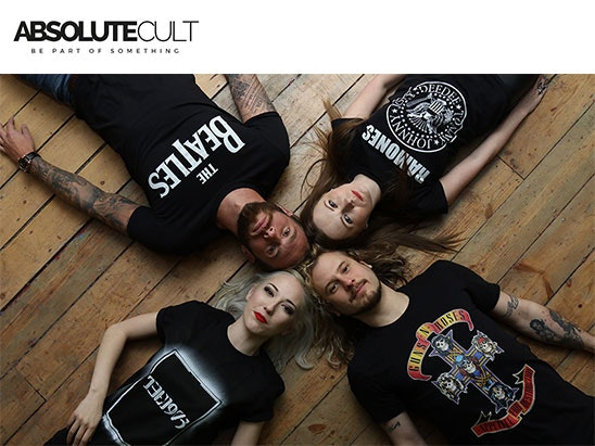 A £50 voucher to spend at www.absolutecult.com sweepstakes