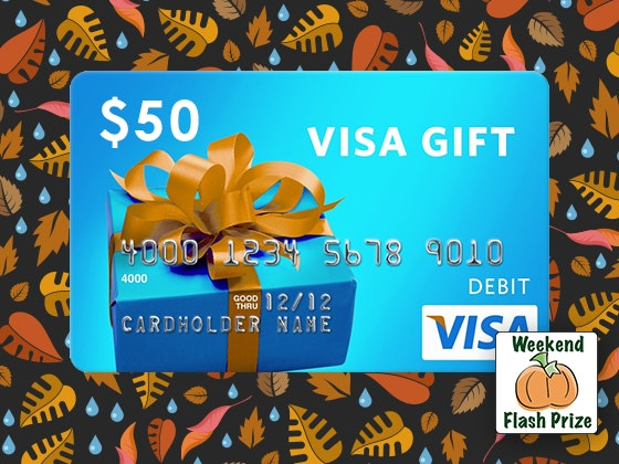 Visa fall weeekend flash giveaway