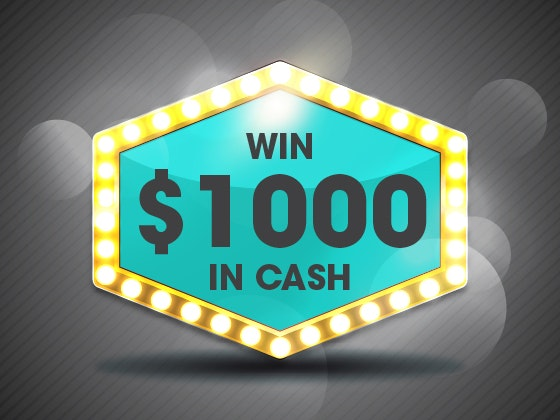 $1000 Cash November 2017 sweepstakes