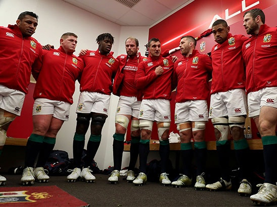 The British & Irish Lions Uncovered DVD sweepstakes