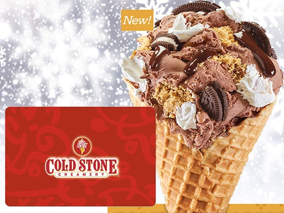 $50 Cold Stone Creamery® Gift Card sweepstakes