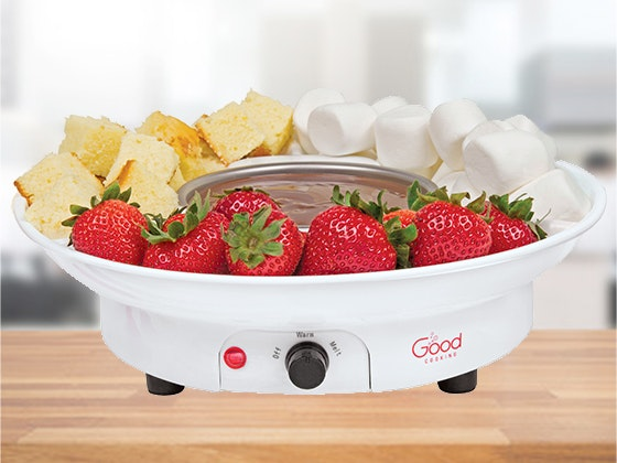 Good Cooking Deluxe Chocolate Fondue Maker sweepstakes