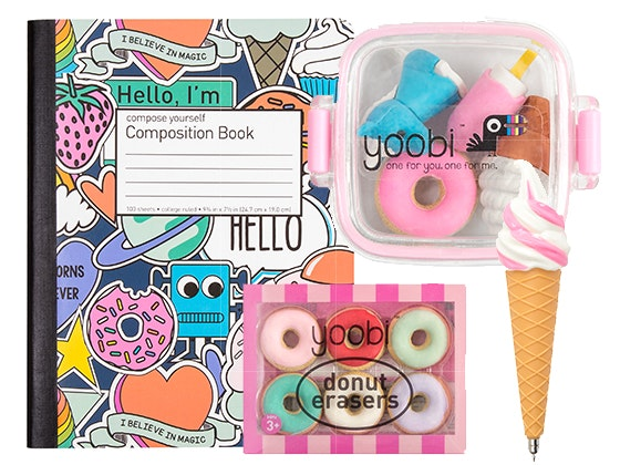 Yoobi Sweet Treats School Supplies Bundle sweepstakes