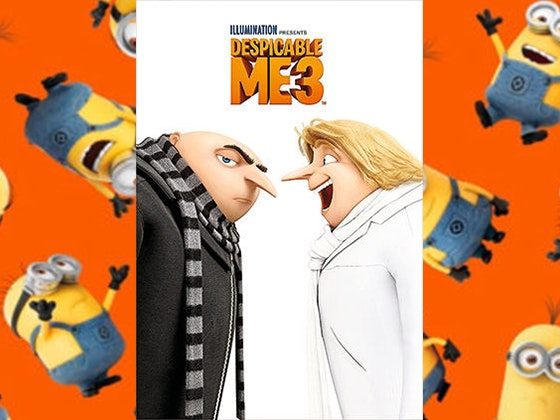 """Despicable Me 3"" on DVD sweepstakes"
