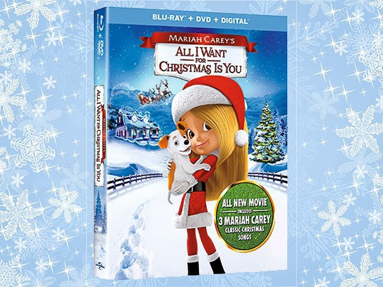 """All I Want For Christmas Is You"" on DVD sweepstakes"
