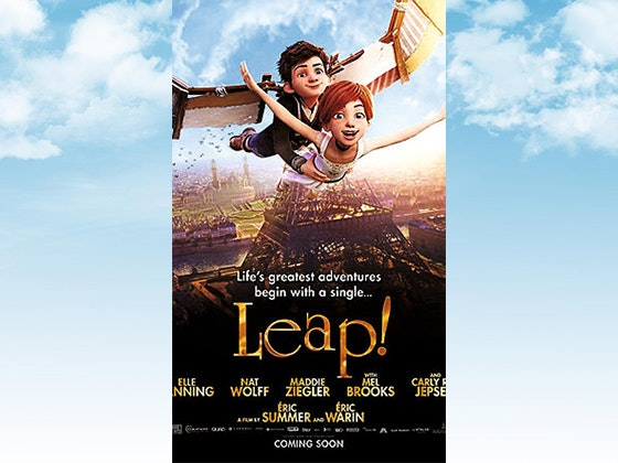 """""""Leap!"""" on DVD sweepstakes"""