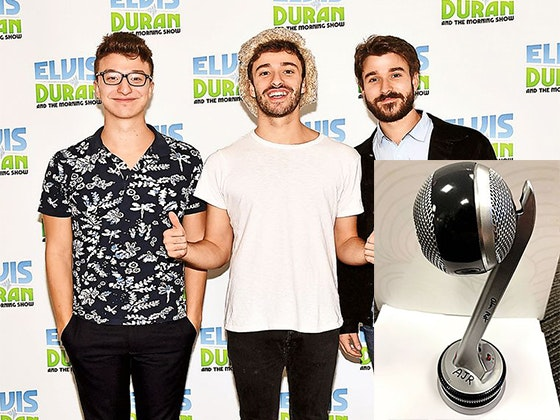 Ajr signed mic giveaway 1