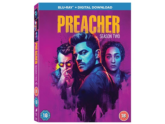 Win Preacher Season 2 on Blu-ray sweepstakes