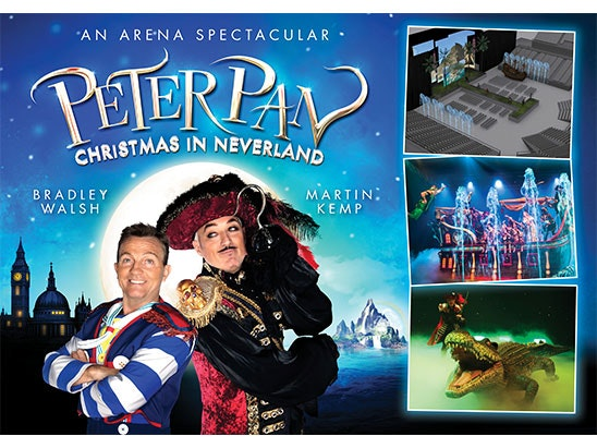 Peter Pan tickets sweepstakes