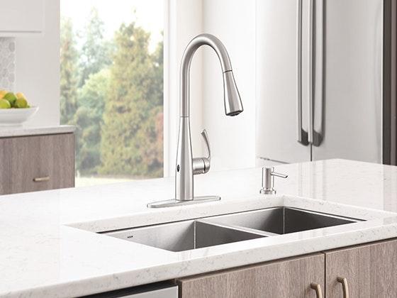 Moen essie motionsense faucet giveaway 1