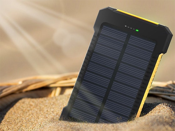 Waterproof Solar Phone Charger from EverythingTechGear.com sweepstakes