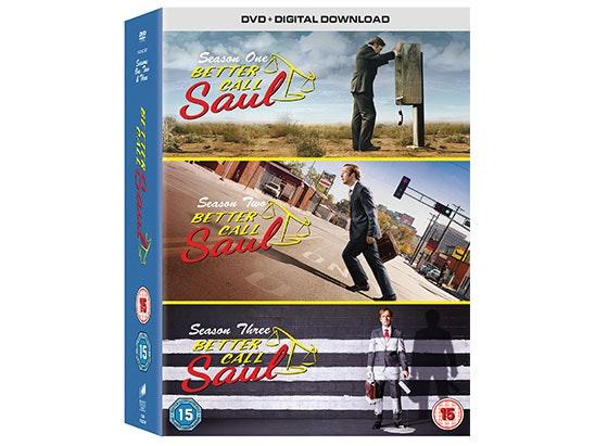 BETTER CALL SAUL SEASONS 1-3 DVD        sweepstakes