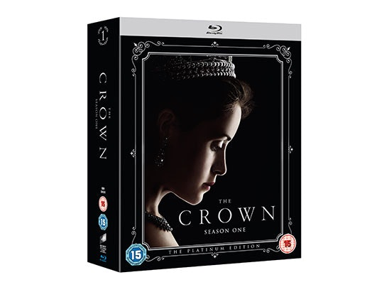 THE CROWN THE PLATINUM EDITION BLU-RAY sweepstakes