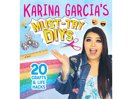 Karina Garcia's Must-Try DIYs Books sweepstakes