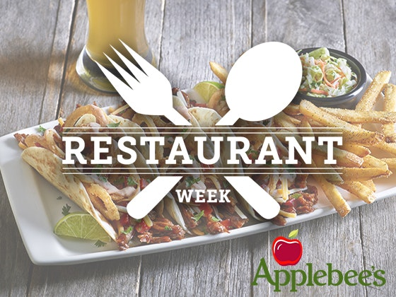 Applebees restaurant week giveaway 1