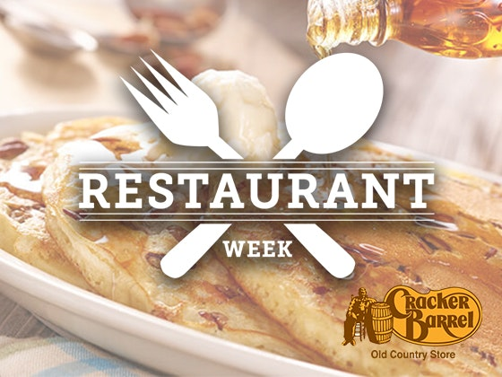 Cracker barrel restaurant week giveaway 1