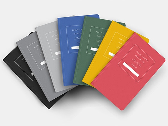 Original Notebook Collection from Public-Supply sweepstakes