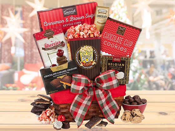 Gourmet gift basket holiday giveaway