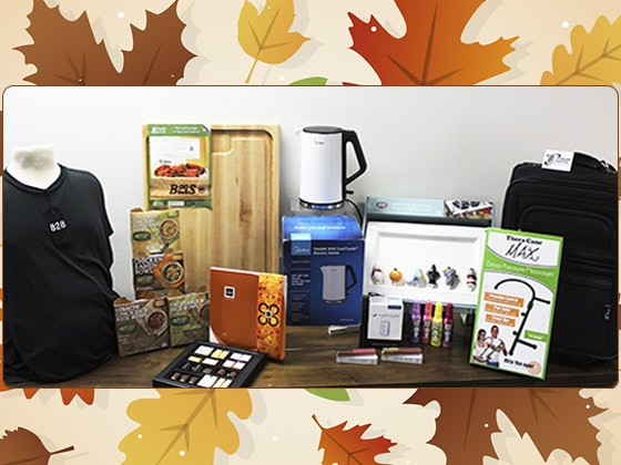 Thanksgiving Swag Bag from Backstage Creations sweepstakes