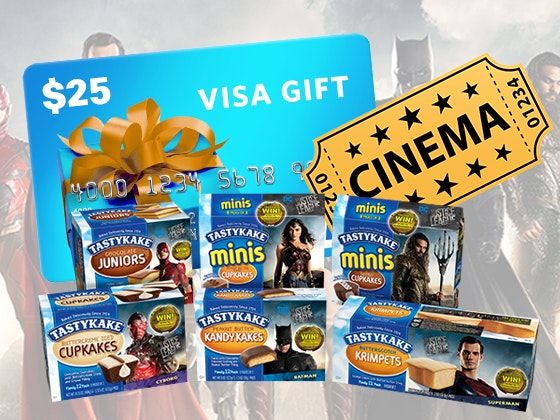 Tastykake Justice Leage Prize Package sweepstakes
