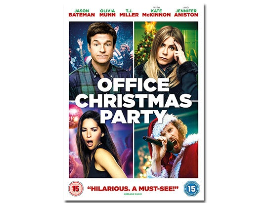 OFFICE CHRISTMAS PARTY ON DVD sweepstakes